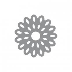intricateshapepunch sunflower5cm