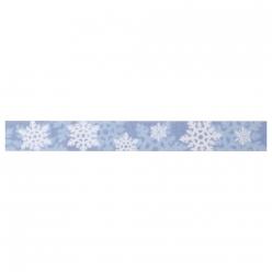 masking tape flocons blancs 15 mm