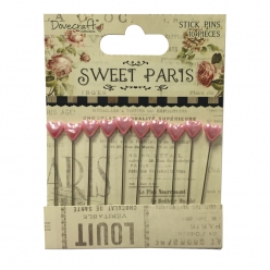 stick pins sweet paris 10pc