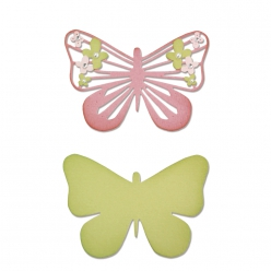 sizzixthinlitsdies butterflyflower2pices