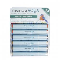 spectrum aqua  nature 12 feutres aquarellables