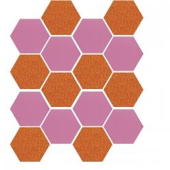 sizzix bigz hexagons 12   127 cm de cote fini