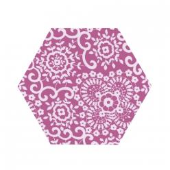 sizzix bigz hexagon 2 14 572 cm de cote fini