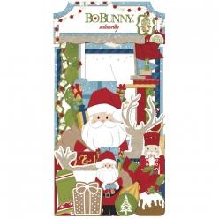 embellissements noteworthy dear santa 40 pieces