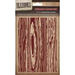 Embossing Folder  - Wood Grain- effet bois