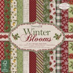 bloc de papier scrapbooking winter blooms 152x152 cm