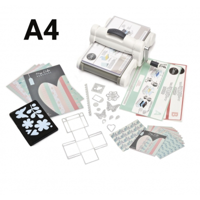 starter kit big shot plus sizzix  a4 complet