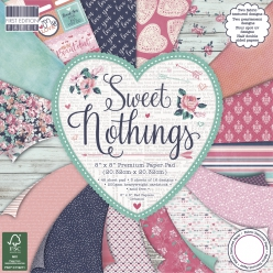 Bloc scrap Sweet Nothings, 20,3x20,3 cm, 48 feuilles
