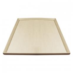 plaque en bois a decorer 33x165 cm