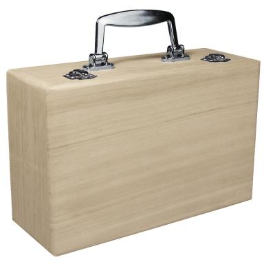 valise en bois 25x16 cm x9 cm rayher. Black Bedroom Furniture Sets. Home Design Ideas