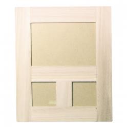 cadre en bois photo triple 25x30 cm