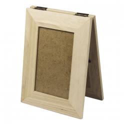 cadre bois photo a ouvrir 19x14 cm
