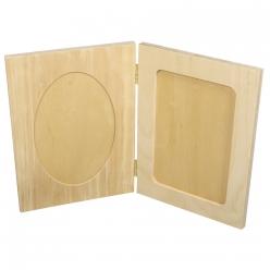 cadre photo en bois a ouvrir 15x20cm