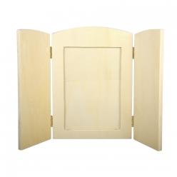 cadre a abattants en bois pour photo 185x13 cm