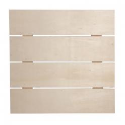 cadre en lattes de bois286x286x07 cm