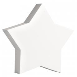 symboleenboismdfetoile11cmblanc