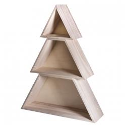 arbre de noel en bois 347x99x45cm