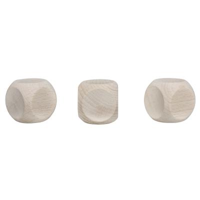 cubes en bois 30x30mm lot de 3pces