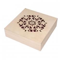 boite en bois 145x145x4cm