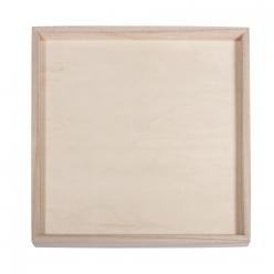 cadre decoratif en bois 26 cm