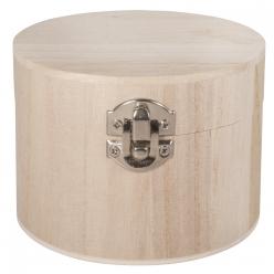 boite en bois 95cm o x7 cm