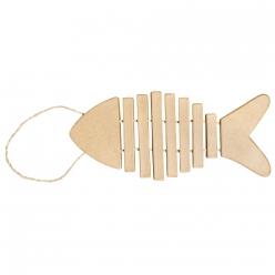 pendentif poisson 24x105x1 cm