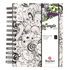 Tangle Memory Journal Orchid  15,5x18cm