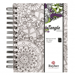 Tangle Memory Journal  Flora  ,15.5x18cm