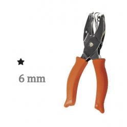 perforatrice motif etoile 6mm o