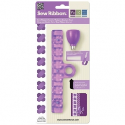 Sew Ribbon Punch Set-Flower, perforatrice ruban