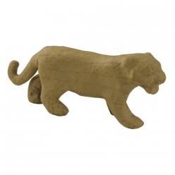 leopard en papier mache 175x45x75 cm