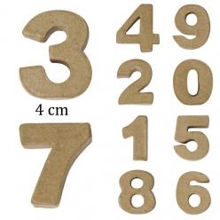 mini chiffresenpapier mch4x15cmlunit