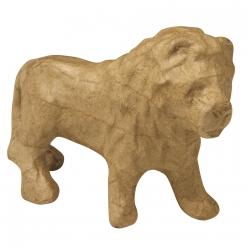 lion en papier mache debout 125x4x85cm