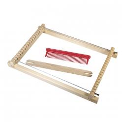 cadre de tissage pour enfants 185x29 cmlargeur 165 cm