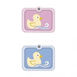 stickers3d6picespetitcanard4x33cm