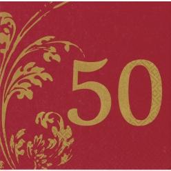 servietteanniversaire50