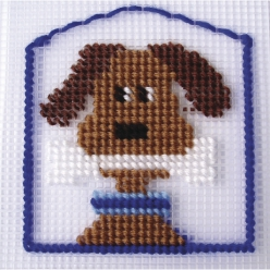 Kit broderie Chien  Henry