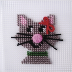 Kit broderie Chat Kathy