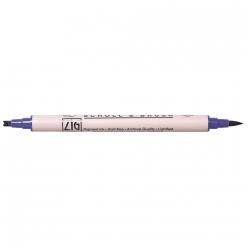 crayoncalligraphiepinceaudoubleligne