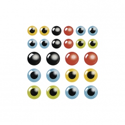 stickerrsineyeux24pc