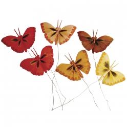 petitpapillonenplumes2cm 6pcs