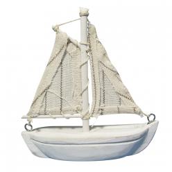 bateau a voile en bois 85 cm