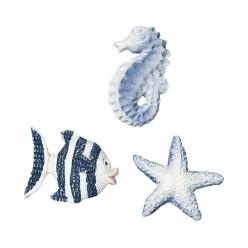 petits objes animaux marins 2 cm