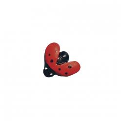 coccinelle en polyresine 15 cm