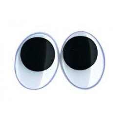 yeuxmobilesenplastiquecollerovales