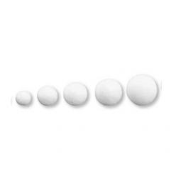 boules en ouate blanche taille au choix