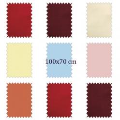 coupon de coton uni 100x70 cm