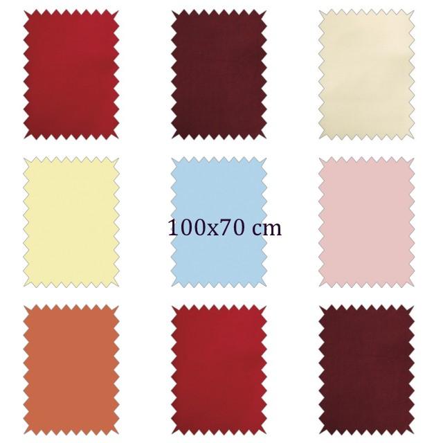 tissu en coton uni
