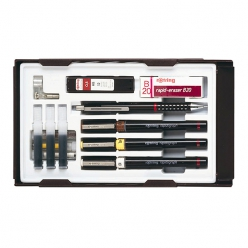 rotringkitcombirapidographcollegeset02503505mm