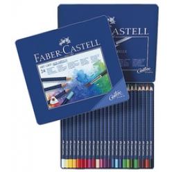 crayons de couleur art grip aquarellables boite metallique